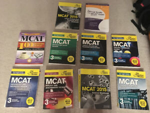 Princeton Review MCAT 2015 Study Books