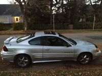 2003 Pontiac Grand Am SE Coupe (2 door)...4CYL ..ONLY 160K