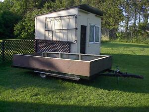 Large utility trailer