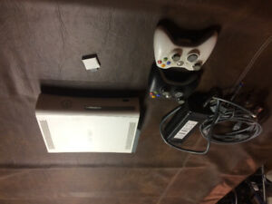 Xbox 360 bundle with guitar hero