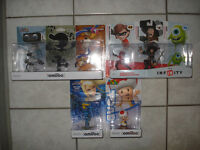 8 NEW Amiibos and Infinity Characters!!!!!!!!!!!!