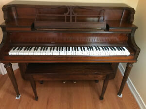 Heintzman Grand Piano in Vertical form