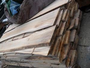 Rough Cut Poplar Lumber