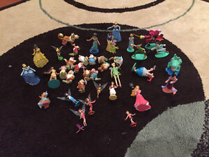 Large lot of Disney Characters