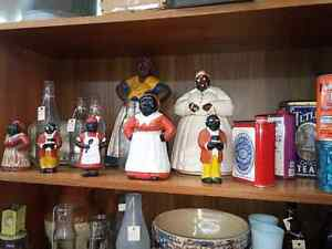 Aunt Jemima Collectibles and Cast Iron Banks