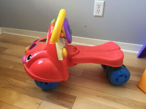 Fisher Price Laugh n Learn Ride to Stride Car Walker / Toy