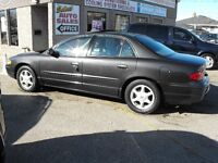 2002 BUICK REGAL LS..LEATHER-SUNROOF-NEWER TIRES  SAFETIED  !!