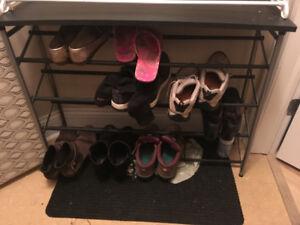 PPU: Adjustable shoe rack