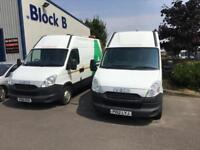 2012 Iveco Daily S Class 2.3TD 35S11V SWB L. Choice of 2. Drives great.