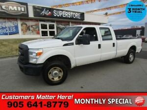 2013 Ford F-250 Super Duty XL  (WORK TRUCK SPECIAL) CREW 6.2L 4X