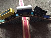 ToyRUs wooden train set