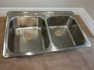 Wessan Double Stainless Sink