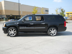2008 Cadillac Escalade, PLATNUM, PKG, XL, DVD, BLACK ON BLACK,
