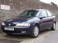Vauxhall/Opel Vectra 2.0i 16v Automatic CDX 1999(T) 4 Door Saloon