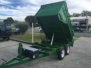 AUSSIE BUILT 9X5 2.9TON HYDRAULIC TIPPER TRAILER WITH 1.1M SIDES Brisbane South West Preview