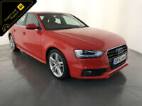 2013 63 AUDI A4 S LINE TDI DIESEL 1 OWNER AUDI SERVICE HISTORY FINANCE PX