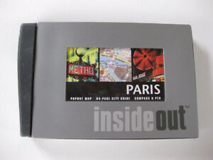 PARIS INSIDE OUT TRAVEL GUIDE