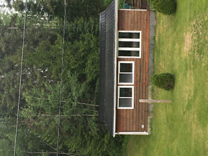 Cottage for rent on beautiful Ivanhoe Lake