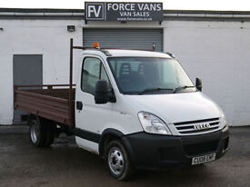 IVECO DAILY 35C12 2.3TD TIPPER DROPSIDE SINGLE CAB PICK UP VAN STEEL BODY