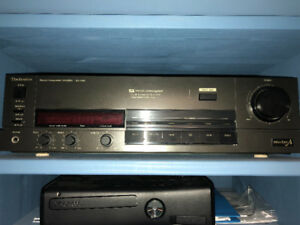 Technics Stereo Integrated Amplifier SU-V98