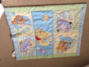 embossed teddy quilt Winnie the Pooh & other blankets Kingston Kingston Area image 8
