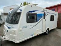 Bailey Pegasus GT65 Rimini 4 berth 2013 ***FIXED SINGLE BEDS***
