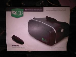 Brand new Virtual Reality Goggles Bluetooth W/Gaming Remote 3D