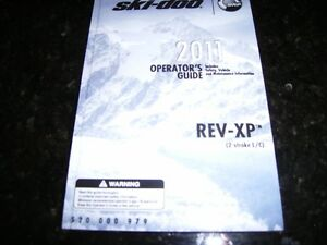 Owners Manual 2011 Skidoo GSX brand new Oakville / Halton Region Toronto (GTA) image 1