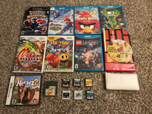 Nintendo Games & Accessories Mixed Lot - Priced to Sell!