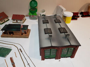 H0 scale houses and Scenery items