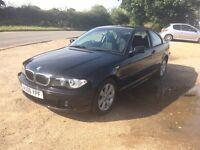 BMW 318 ci se, 44,000 miles, long MOT