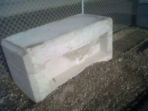 NEW CONCRETE RETAINING WALL BLOCKS Edmonton Edmonton Area image 2