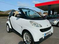 2008 smart fortwo cabrio Passion 2dr Auto CONVERTIBLE Petrol Automatic