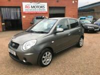 2010 Kia Picanto 1.1 ( 64bhp ) Graphite, 5dr Hatchback, **ANY PX WELCOME**