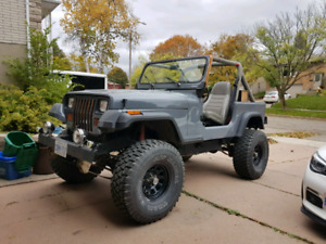 1989 Jeep Wrangler YJ Lifted