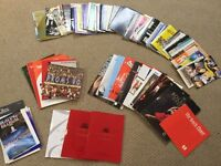 Huge Collection of 85 + 1980/90's London Theatre Programs & Event Catalogues