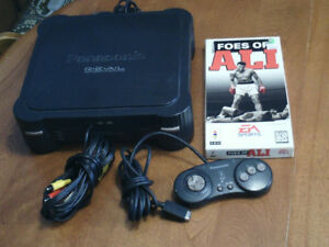 Panasonic 3DO video game console with Foes of Ali game