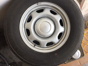 Ford Rims with tires and sensors