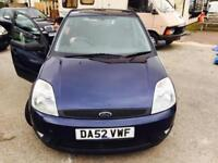 Ford Fiesta 1.4 ( a/c ) 2003.5MY Zetec Manual Metallic Blue