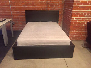 Ikea Double/Full bed frame and mattress - barely used