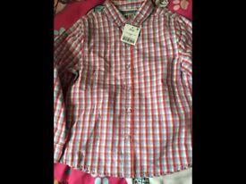 Boys shirt age 4-5 NEW