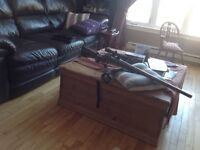 Airsoft sniper great deal Comes with 2500 bbs and 32 by 4 scope