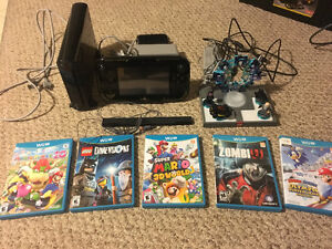 Wii U and games (barely used)