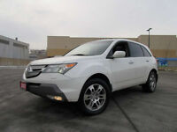 2007 Acura MDX AWD,7 Passenger, Leather,roof,Up to 3yr Warranty