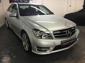 Mercedes-Benz C Class 2.1CDI (170ps) C220 AMG Sport Edition (Premium) Saloon 4d