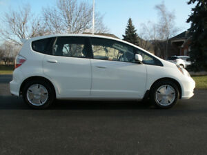 2010 Honda Fit LX:  Only 121kms, Auto, Drives Great, Must See!
