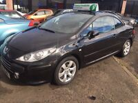 STUNNING LOW MILEAGE PEUGEOT 307cc 1.6 ALLURE CONVERTIBLE