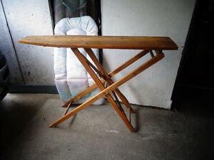Century old wooden ironing board ...