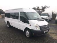 2012 Ford Transit Medium Roof 17 Seater TDCi 135ps NA Diesel Manual