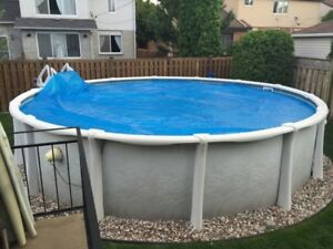 Above ground 21ft pool
